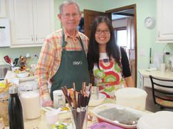 Jing Jing and Keith