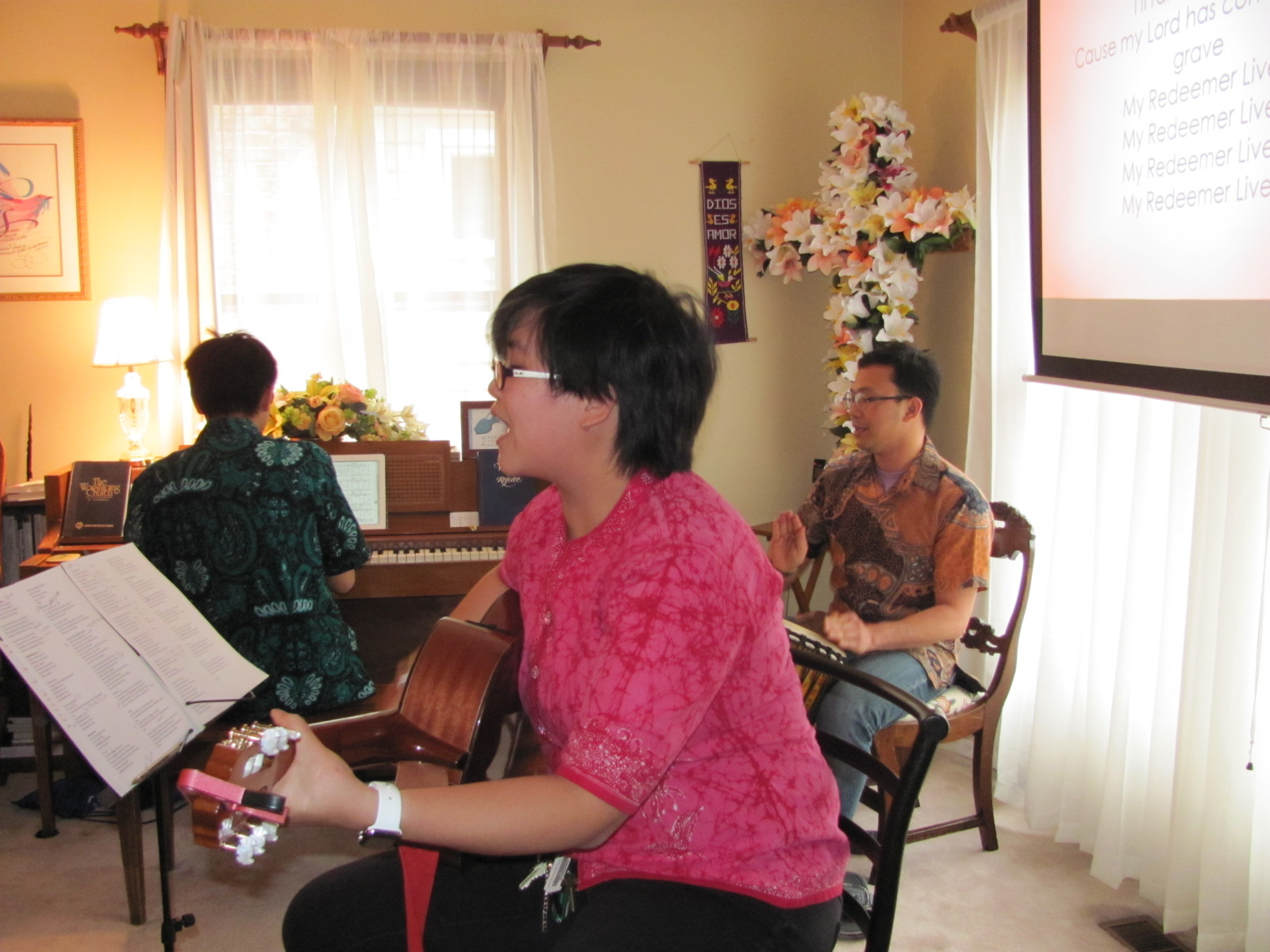 Indonesian worship team!