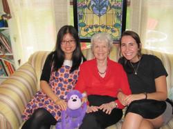 Jing Jing, Dr. Mary Lou, Alyssa
