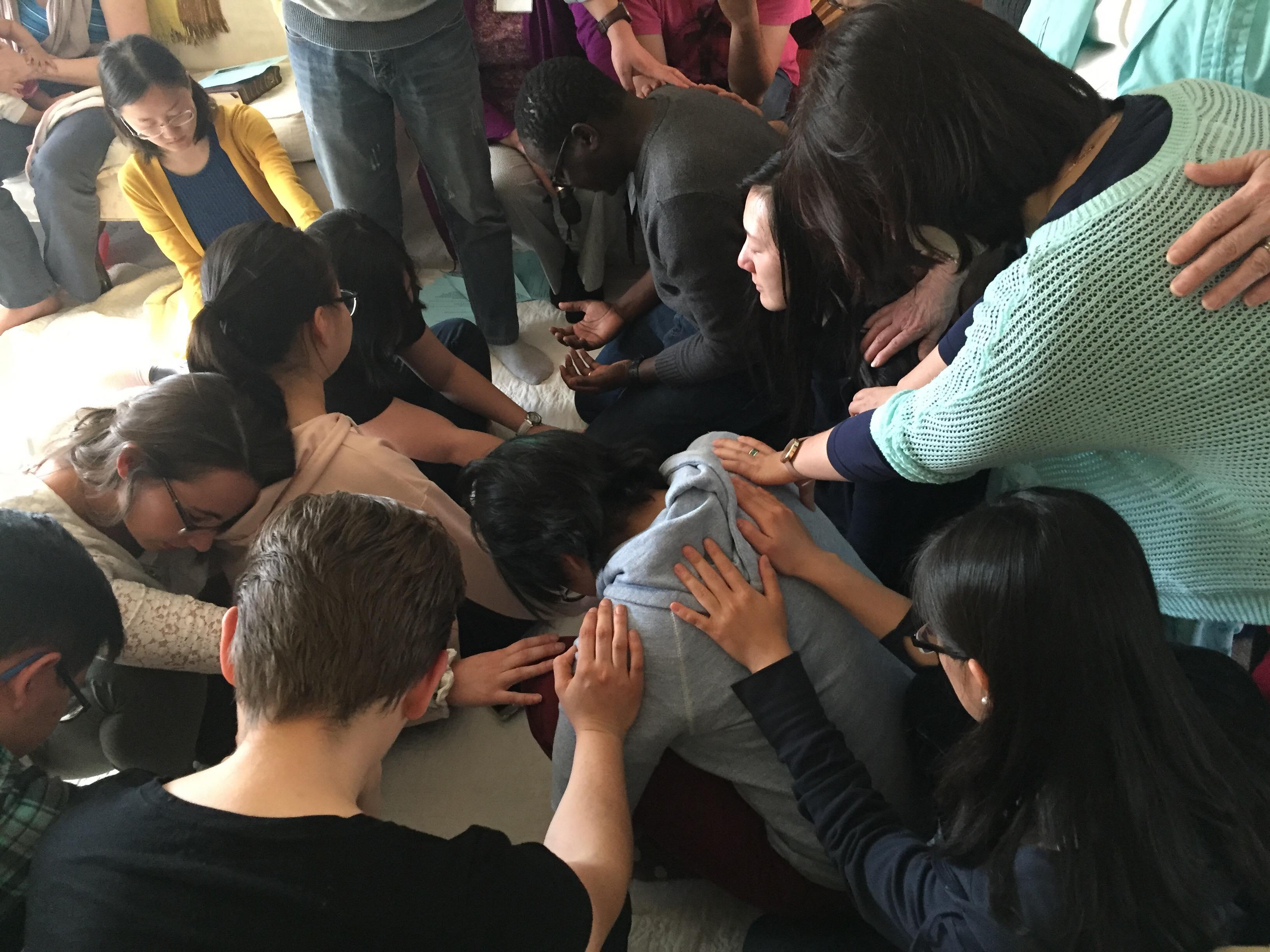 sending prayer