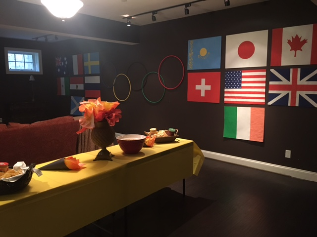 Olympic Themed Party