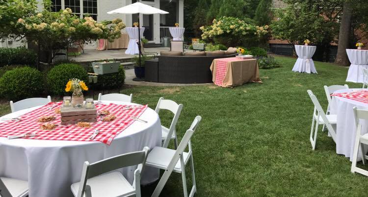 Elevated Casual Backyard Party