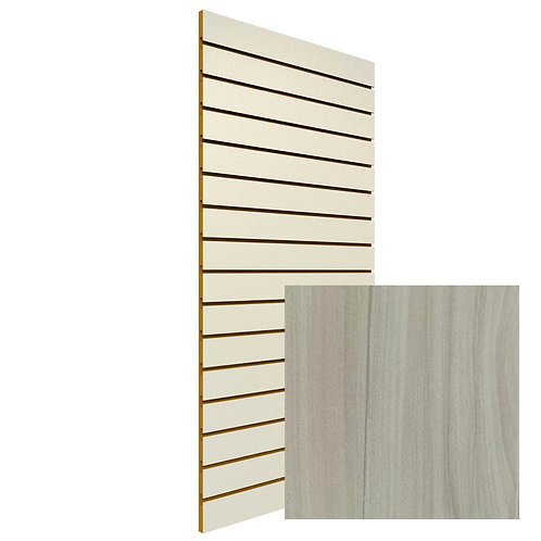 Washboard Slatwall Sheet (Woodgrain)