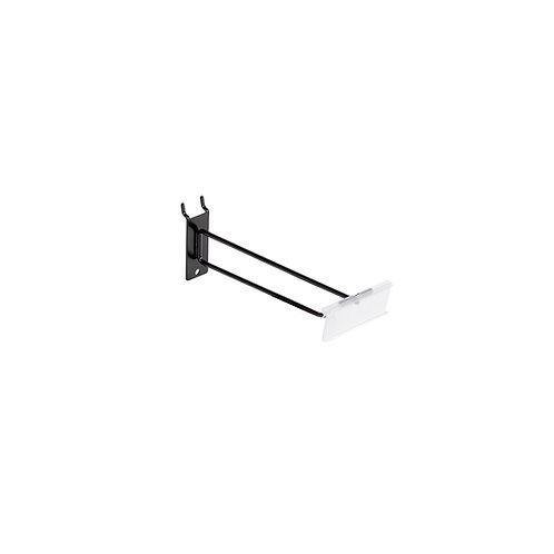 Slatwall/Pegboard Hook 225mm with 80 x 26mm Flipper Scan Plate