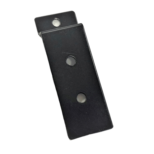 Slatwall Flat Hook with Back Plate
