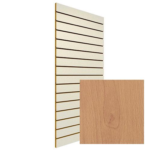 Euro Beech Slatwall Sheet (Board Clearance - 1 Only!)