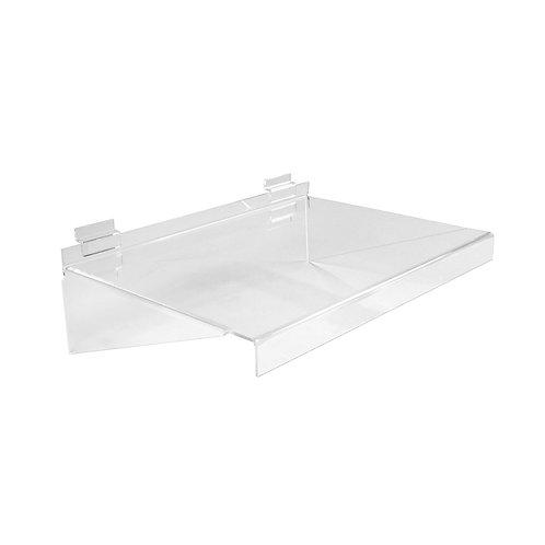 Slatwall Acrylic Shelf  293w x 280d x 133h