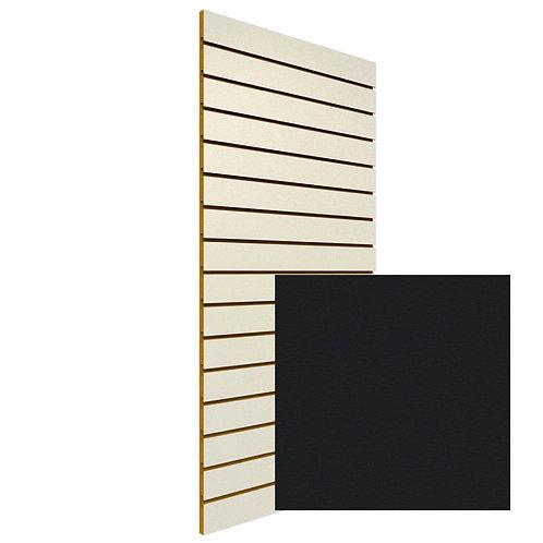 Black Slatwall Sheet