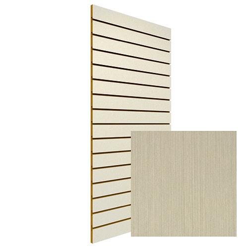 Oyster Linear Slatwall Sheet (Board Clearance - 1 Only!)