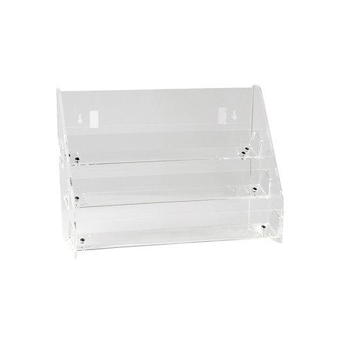 Card / DVD Display 3 Tier Unit Freestanding or Slatwall 445w x 145d x 310h