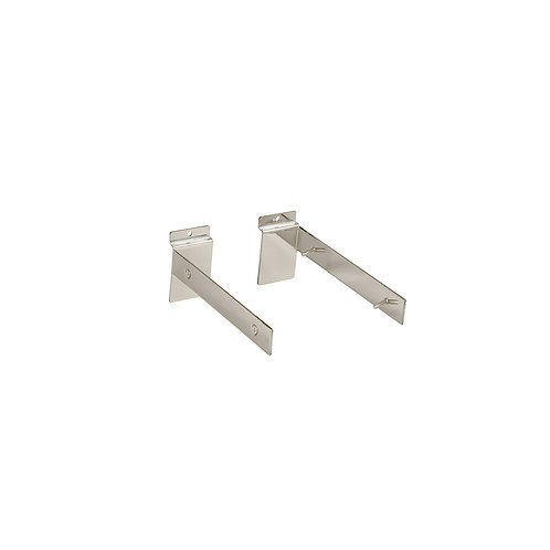 Slatwall Shelf Bracket Set For 30mm Thick 200d Shelf