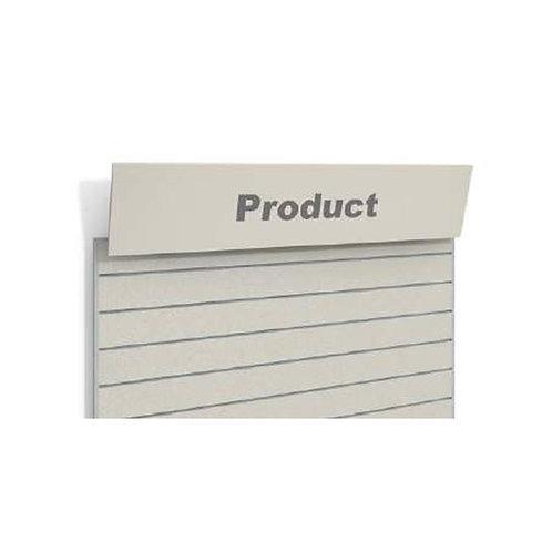 Sign Header For Slatwall Panel