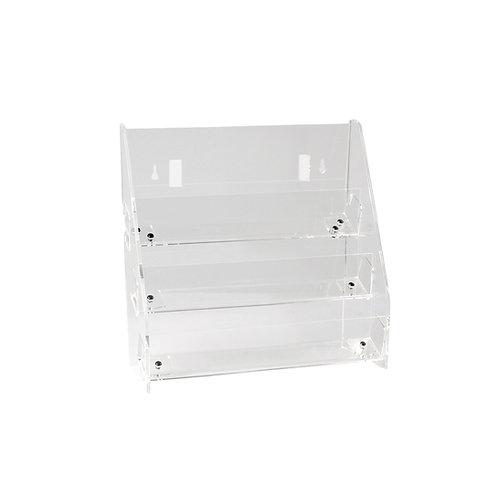 Card / DVD Display 3 Tier Unit Freestanding or Slatwall 295w x 145d x 310h
