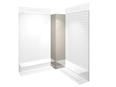Slatwall Corner Boxing For Slatwall Panel (47-DIY)