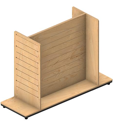 Plywood Pop Slot H Gondola - Large