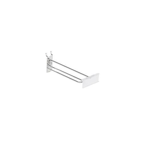Slatwall/Pegboard Loop Hook 300mm With 80 x 26mm Flipper Scan Plate