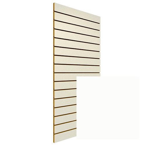 White Slatwall Sheet