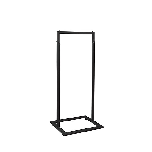 Style Rack MAXe Single Rail with Adjustable Height 600w x 1400h x 457d