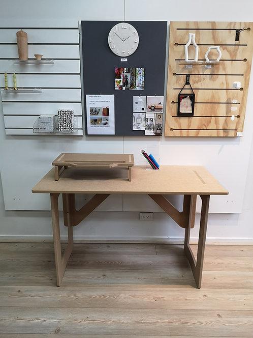 Isa 1200W MDF Desk - Bonus Monitor Stand