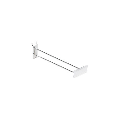 Slatwall/Pegboard Hook 300mm with 80 x 26mm Flipper Scan Plate