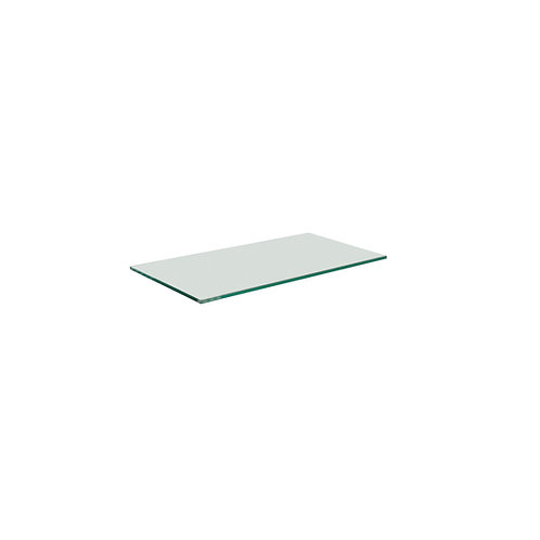 8mm Tempered Glass Shelving with Polished Edges (Various Sizes)