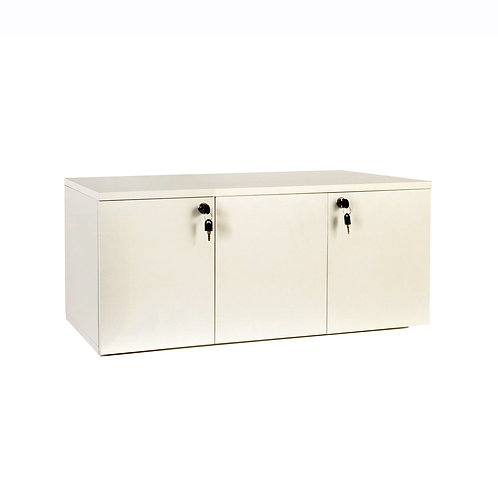 MAXe Base Cupboard with Doors, Lock, Brackets for 900mm Bay