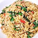 Spicy Basil Fried Rice | เข้าผัดกระเพรา