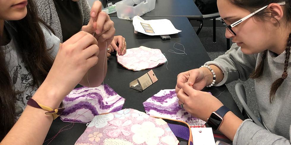 Sewing Feminine Hygiene Products