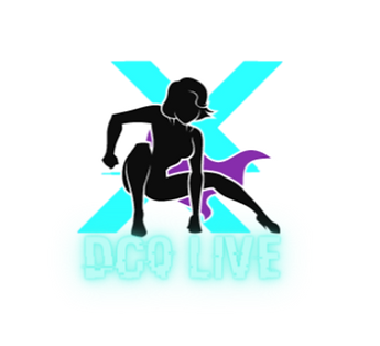 The logo image of the DCQ Live division of Dr. Constance Quigley Online.