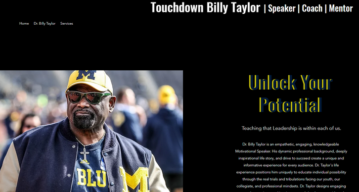 Touchdown Billy Taylor