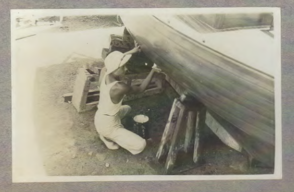Building with Teak, 1939