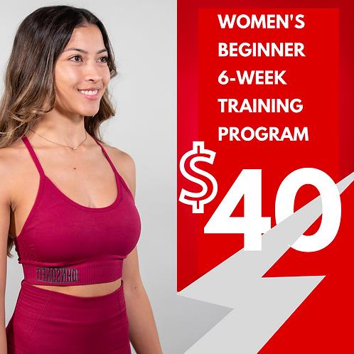 Women's Beginner Program