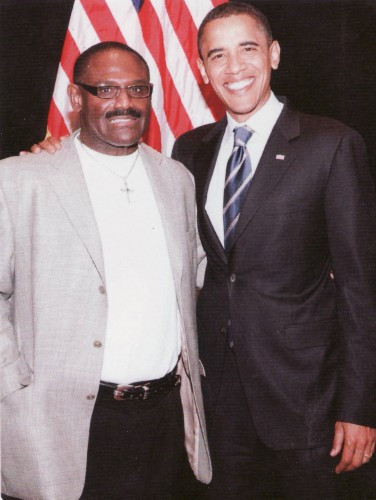 President Obama and Dr. Taylor