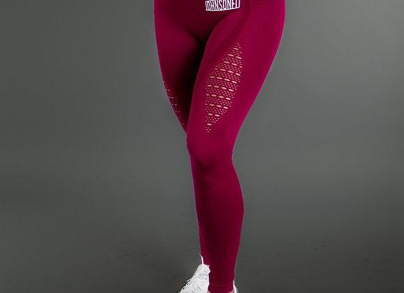 Adele Raspberry Seamless Leggings