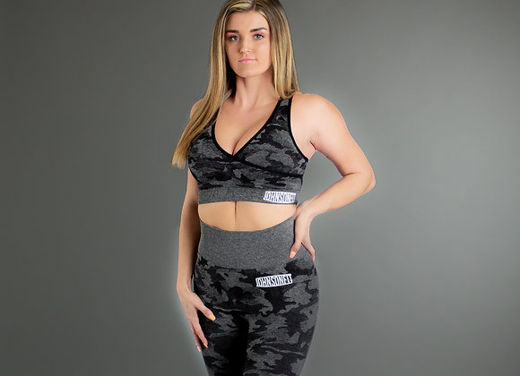 Black Camo Sports Leggings