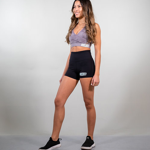 Balance performance high-waist shorts