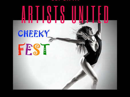 Cheeky helps people through the arts: