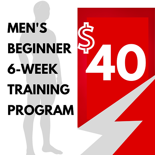 Men's Beginner Program