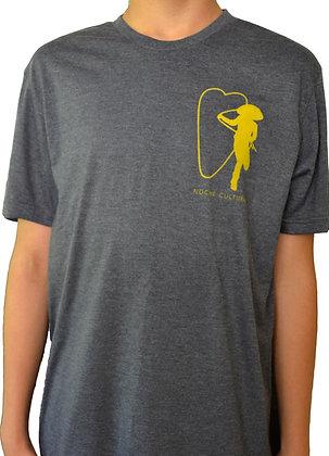 T-Shirt Navy Triblend (Crew Neck) / Camiseta Cuello Redondo (Azul Marino)