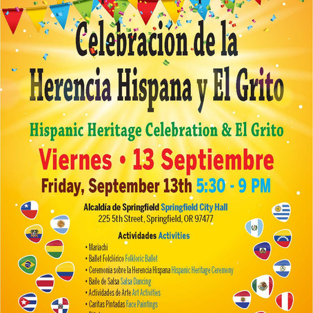 Hispanic Heritage Celebration & El Grito