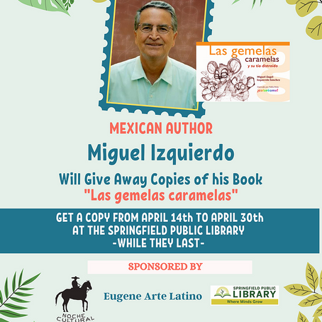 Children in Springfield and Eugene, this is a special gift for you. Enjoy the lecture in Spanish!
