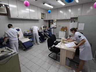 Hospital de Aeronáutica dos Afonsos promove Arraiá Solidário para doação de sangue