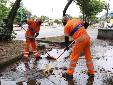 Mutirão da Comlurb retirou 31,6 toneladas de lixos em Sulacap e Magalhães Bastos