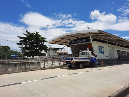 Fechada desde outubro, estação BRT em Magalhães Bastos, reabre nesta segunda (22)