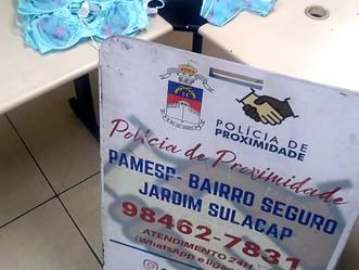 Bairro Seguro prende dois por furto em loja do Shopping Sulacap