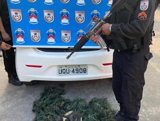 [VIDEO] Polícia Militar faz operação no Jardim Novo para combater confronto entre criminosos