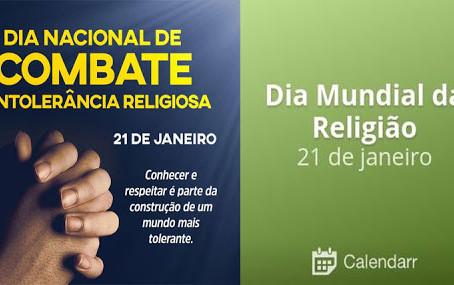 Governo do Estado do Rio de Janeiro reforça o alerta: Intolerância Religiosa é crime