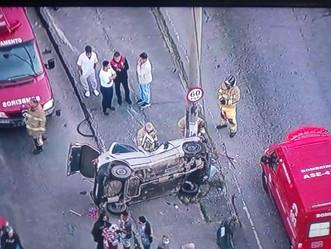 [ATUALIZAÇÃO] [EXCLUSIVO] Vídeo mostra acidente que matou um motorista na Marechal Fontenelle