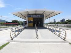 Estação Riocentro é fechada temporariamente por causa do furto de cabos e vandalismo