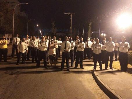 Funcionários do BRT fazem assembléia e rejeitam rodízio de 30 dias